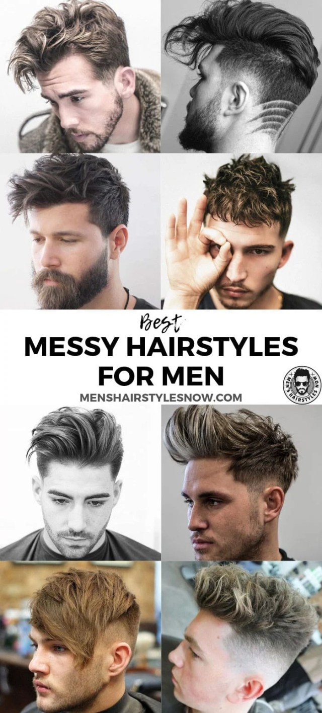37 messy hairstyles for men (2019 guide)