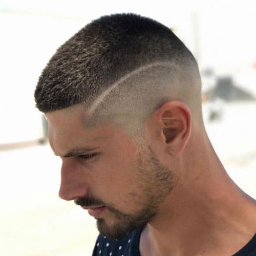 23 Best Buzz Cut Hairstyles Cool Mens Buzz Cut Fade