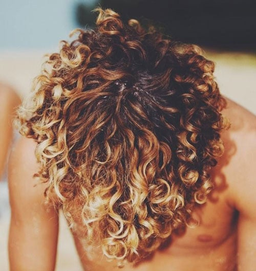 Curly Hairstyles For Men Mens Hairstyles Haircuts 2018