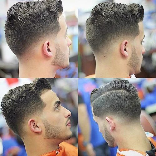 Best Comb Over Fade Hairstyles For Men Mens Hairstyles