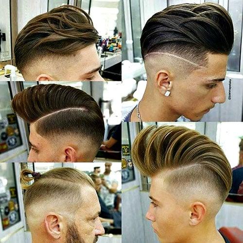 25 Barbershop Haircuts | Men's Hairstyles + Haircuts 2017