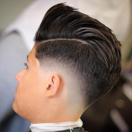 The Drop Fade Haircut Mens Hairstyles Haircuts 2017