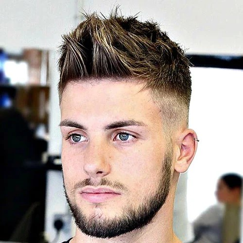 The Brushed Up Hairstyle Mens Hairstyles Haircuts 2017