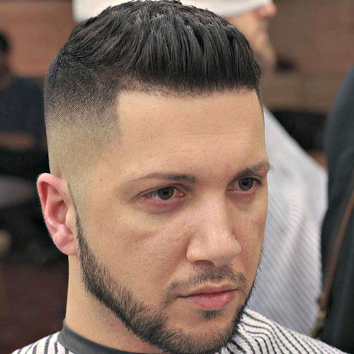 Brushed Up Hairstyle Mens Hairstyles Haircuts 2019