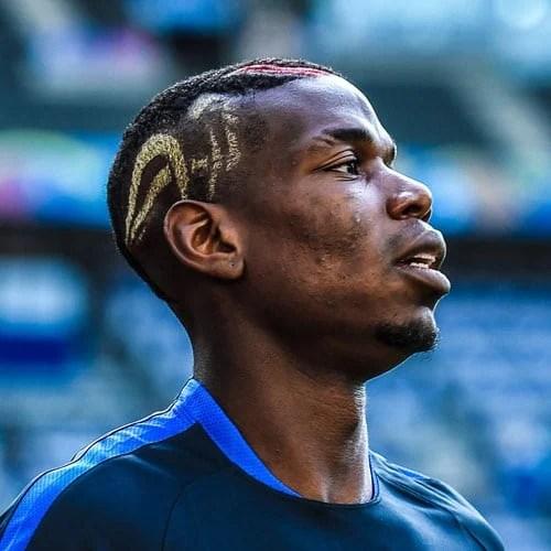 Paul Pogba Haircut Mens Hairstyles Haircuts 2019