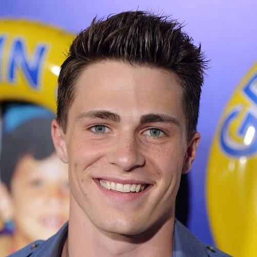 Colton Haynes Haircut Mens Hairstyles Haircuts 2019