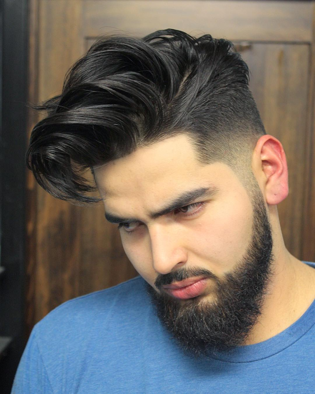 Medium Length Mens Hairstyles For Straight Thick Hair