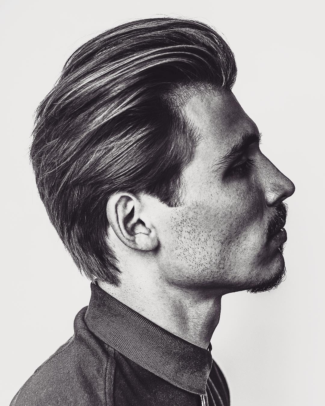 Latest Mens Medium Length Hairstyle 2018 Mens