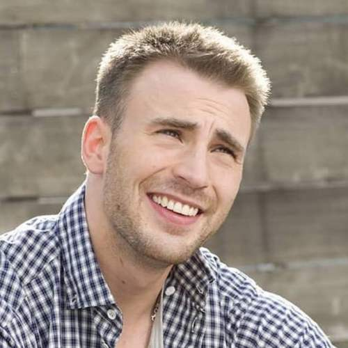 Chris Evans Haircut Captain America Haircut Mens