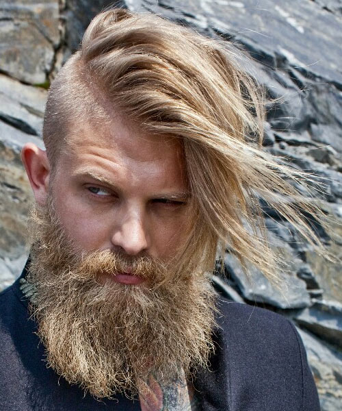 Image Result For Long On Top Shaved Sides Mens Hairstyles