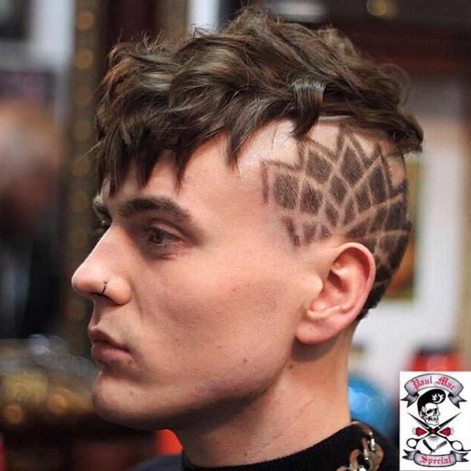 17 cool thick hair hairstyles + haircuts for men 2018