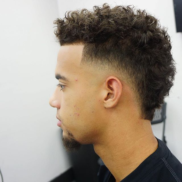 Basic Undercut With Curly Hair