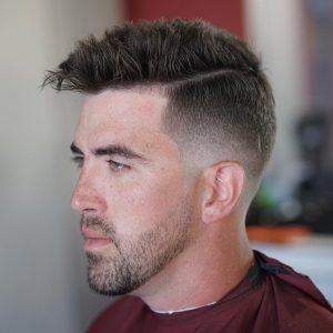 Wide Mohawk Haircut