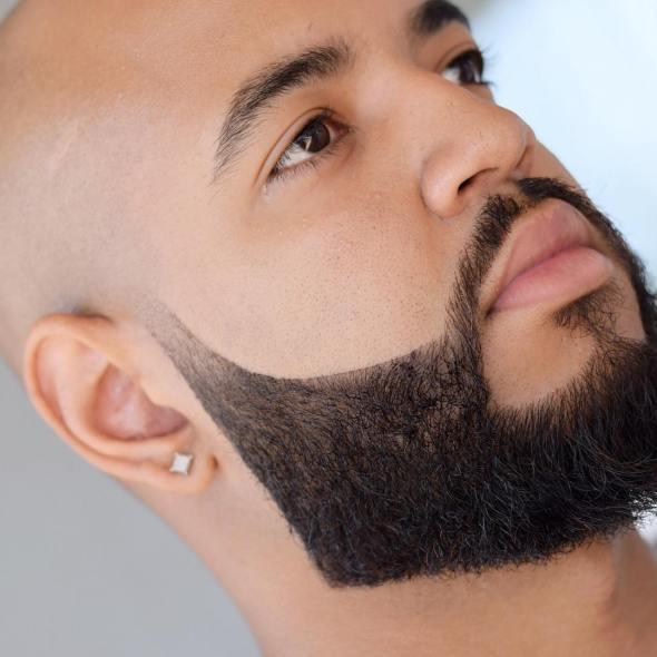 Beard Styles for men bald