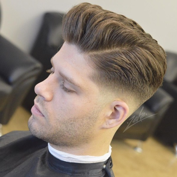 Pompadour Hairstyles for Men
