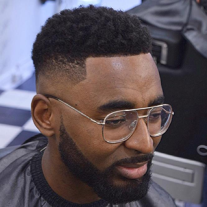 Side Cut And Full Beard Hipster Haircut