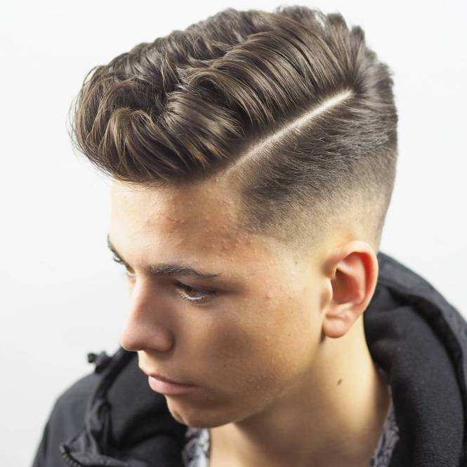 Side Part Hairstyle Men New Hairstyles For With Long Hair 12