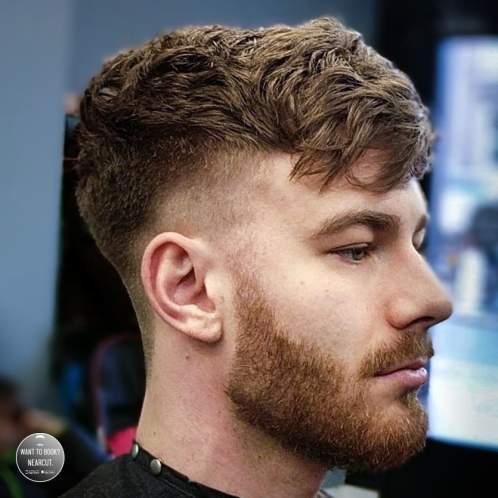 rzadkie włosy męskie fryzury