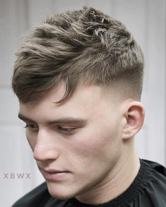 new hairstyles for men 2019 -> men's hairstyle trends