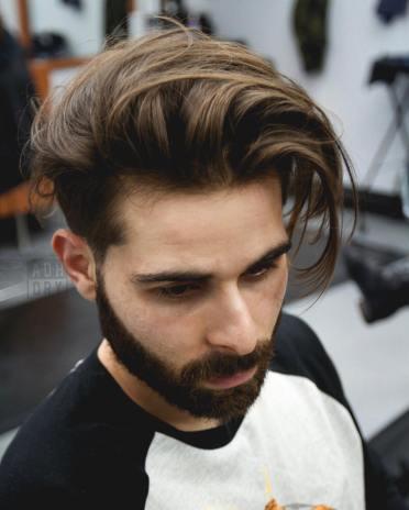 zapuszczanie włosów etap 1