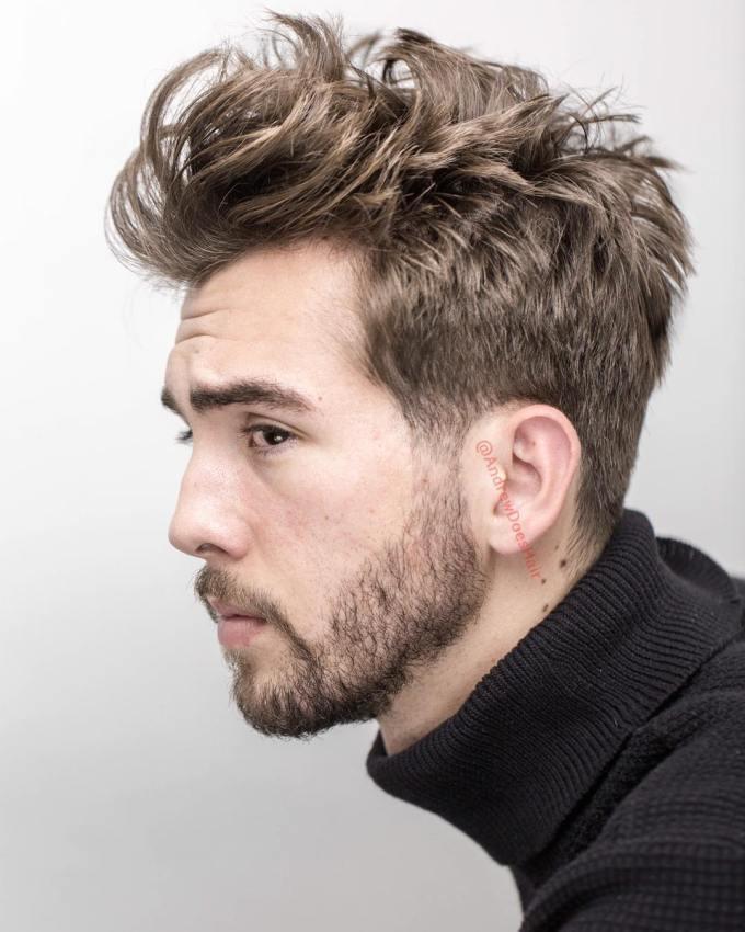 medium length haircuts for men (2018 update)