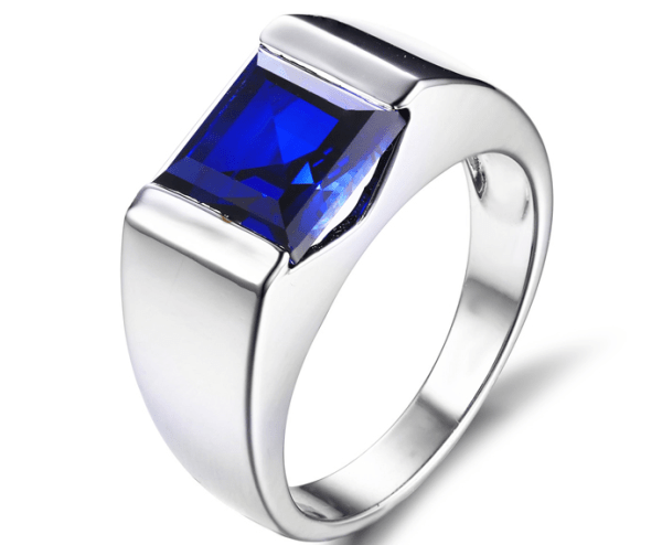 Mens Ring - Topaz