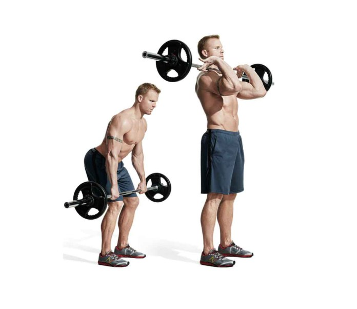 e 30 Best Back Exercises of All Time - Hang Clean