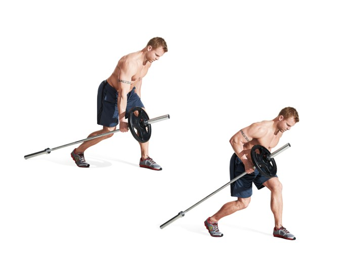 The 30 Best Back Exercises of All Time - Landmine One-Arm Row