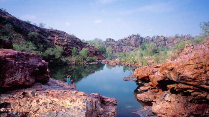 Permits required for visiting. Kakadu National Park, Northern Territory, Australia.