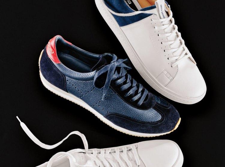 Navy Morrrison Sneaker