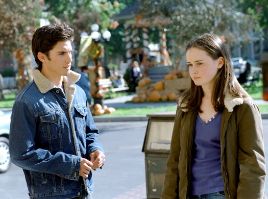 Ventimiglia's first star turn, as the brooding bad boy Jesse Marino, opposite Alexis Bledel's Rory, on Gilmore Girls, circa 2001.