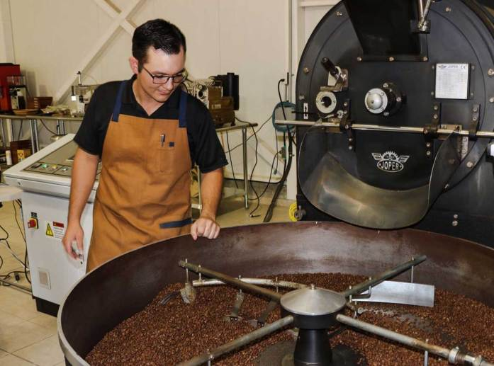 Roasting Boquete Panama Coffee