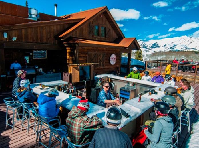 The Ice Bar at Uley's Cabin