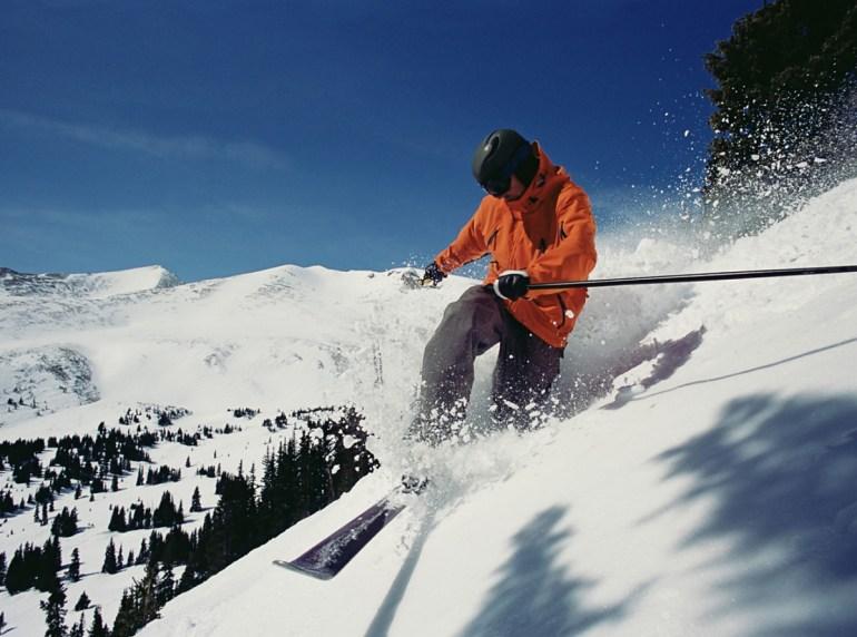 Skiing in Breckenridge