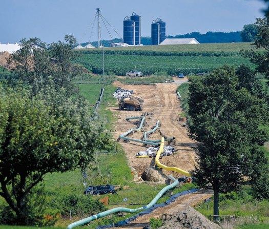 A Pennsylvania pipeline