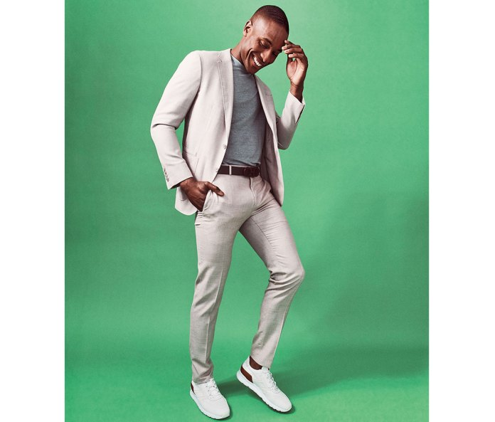 Cotton suit by Canali