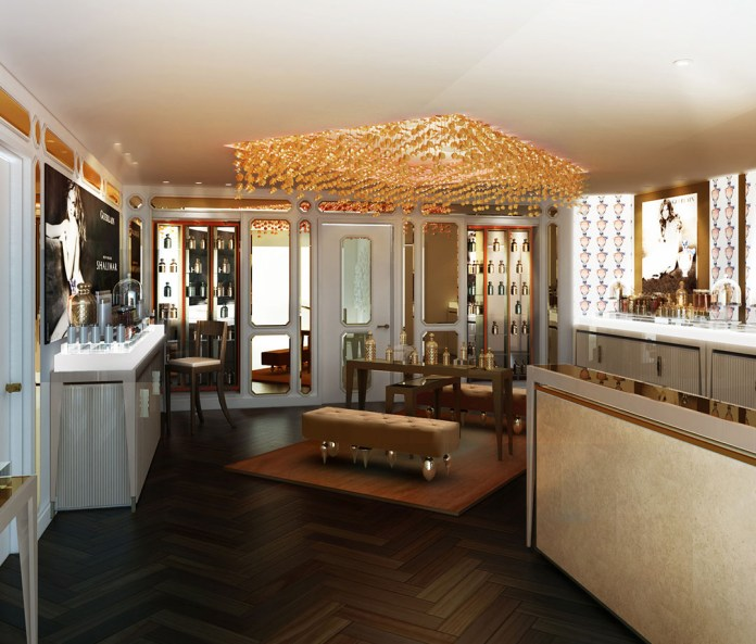 The spa at The Waldorf Astoria- Edinburgh