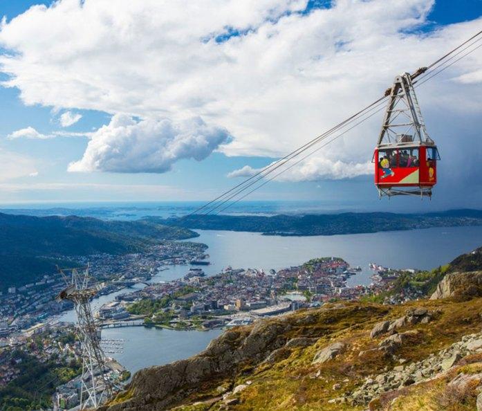 Ulriken cable car