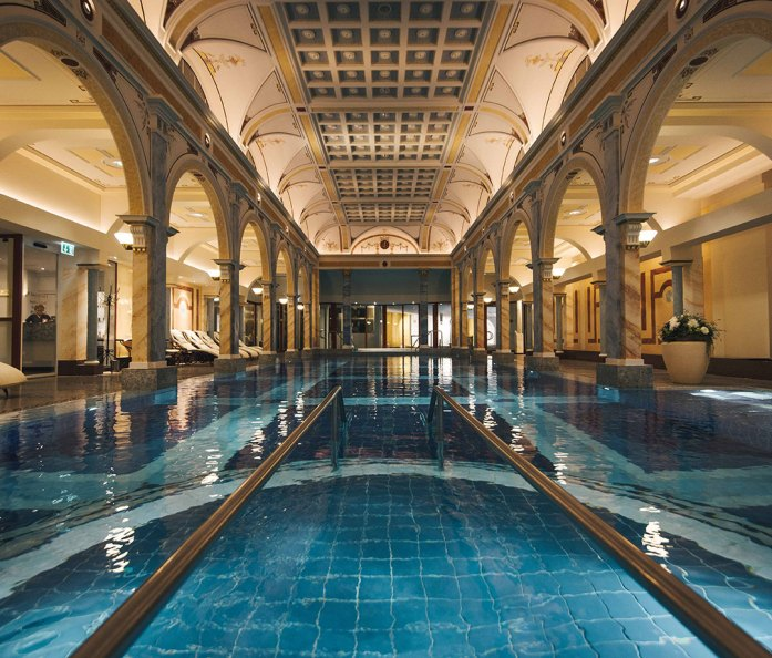 Helena Pool at Grand Resort Bad Ragaz