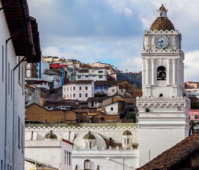 La Merced Church, Old Town, Quito, Pichincha Province, Ecuador