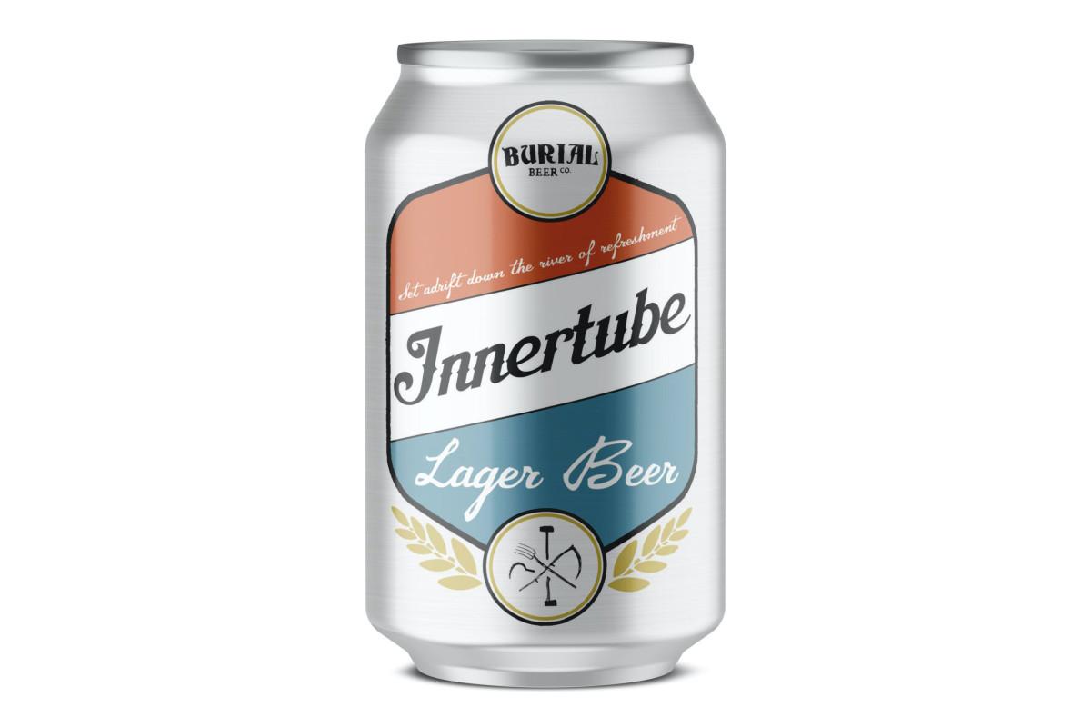 Burial Beer Innertube