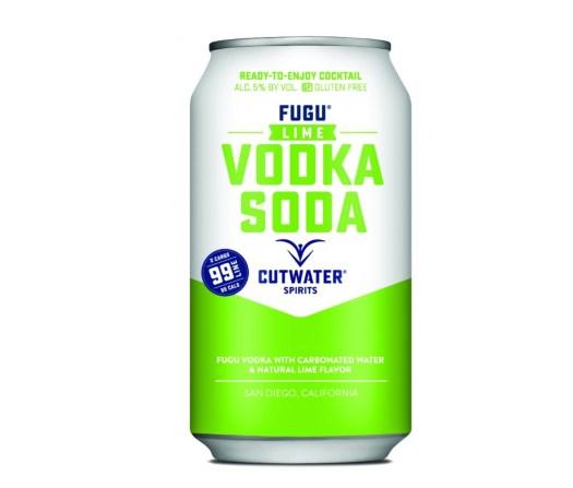 Cutwater Lime Vodka Soda