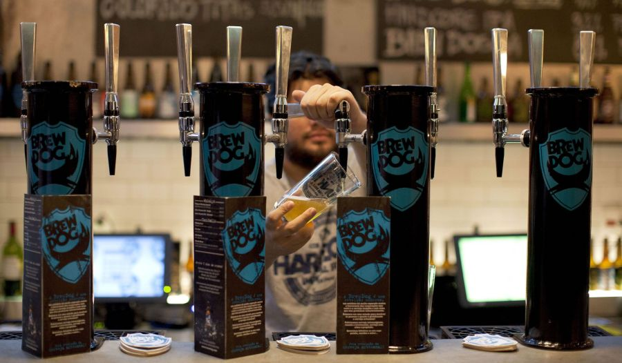 BrewDog Brewery joined forces with Schorschbräu to brew the