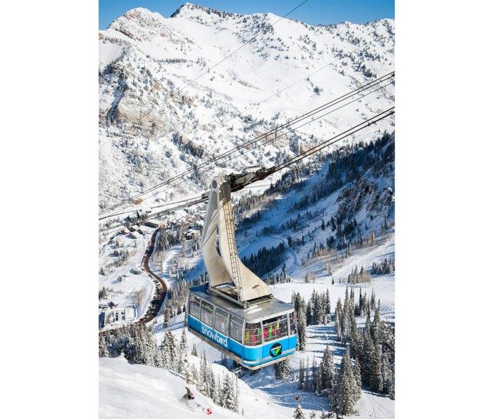 Chairlift at Snowbird resort