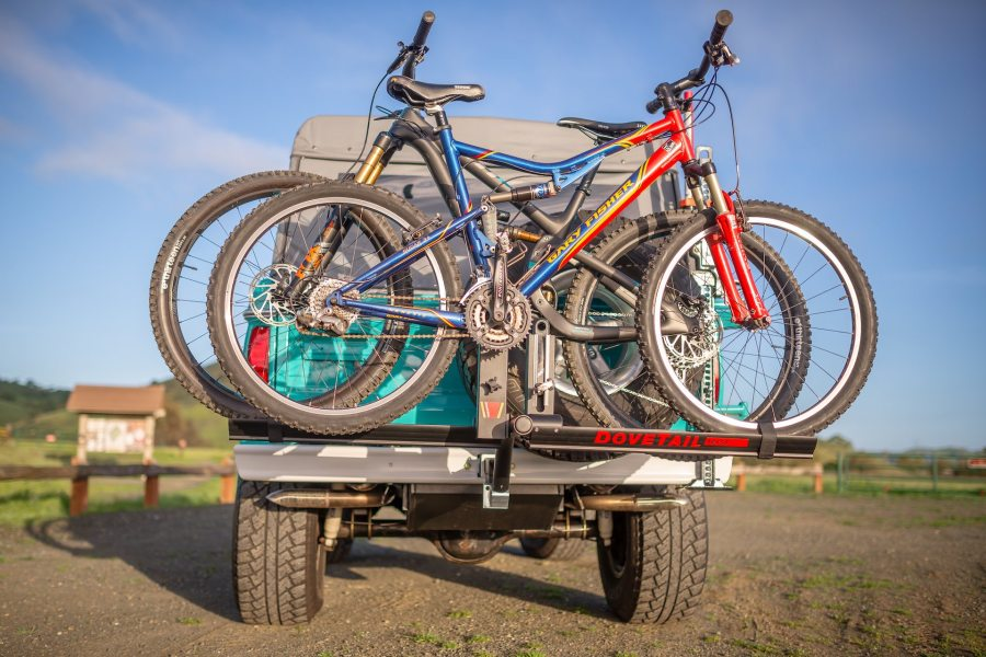 Dovetail Ferst Rack hitch mount bike rack