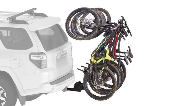 the five best hitch mounted bike racks