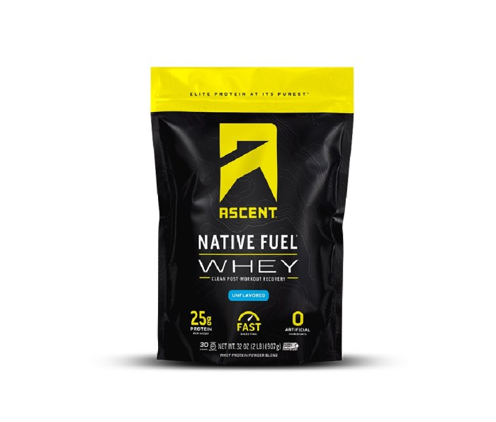 Ascent Whey Protein