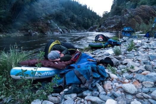 Camping on the Klamath