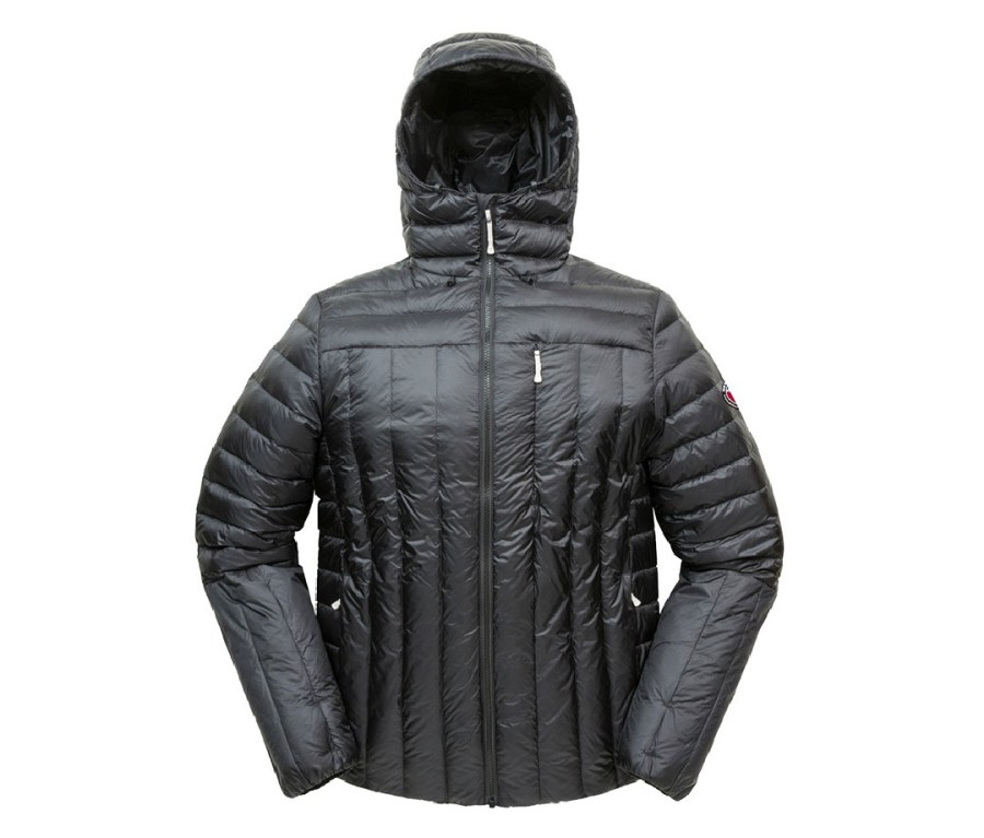 """Part of Big Agnes' new down jacket line for 2021, the Soda Peak comes with me on every backpacking trip. Its 850 fill pairs with a mid layer to keep me cozy on subzero nights. The water-resistant down (great for snow activities) dries quickly without leaving behind the """"wet dog"""" smell that often plagues down."""