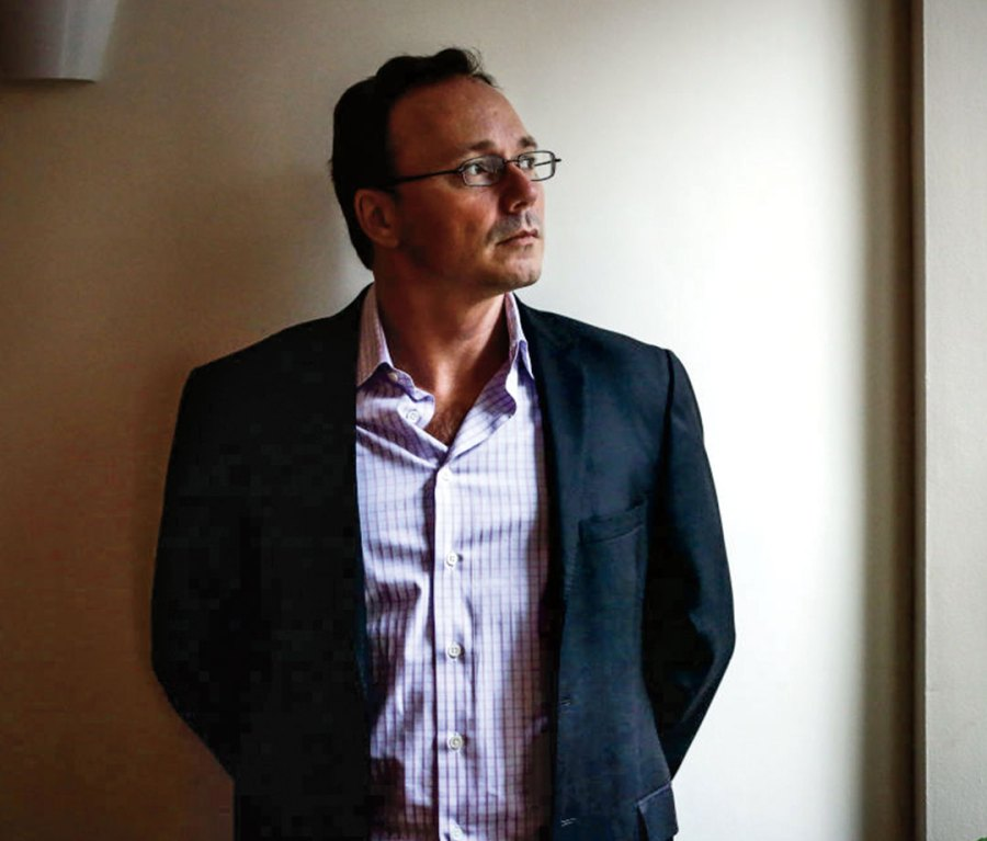 Portrait of Bitfinex principal Phil Potter